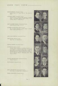 Bouse, Oren, Kokomo H.S., Kokomo Indiana, 1936