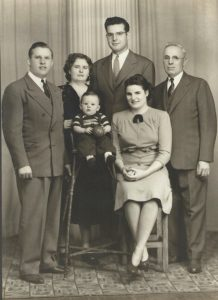 Tarr Family Photo circa 1941 - Scanned copy (2)