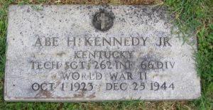 Abe.Kennedy.gravestone