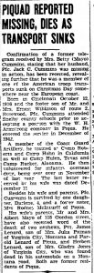 Cummins, Jack C., (OH); The_Piqua_Daily_Call_Wed__Jan_31__1945_