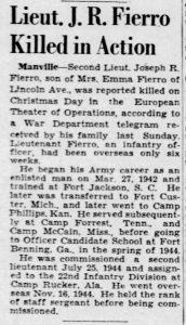 Fierro, Joseph A., The_Courier_News_Thu__Jan_18__1945_