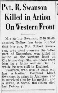 Swanson, Robert (IL); The_Daily_Times_Tue__Jan_16__1945_